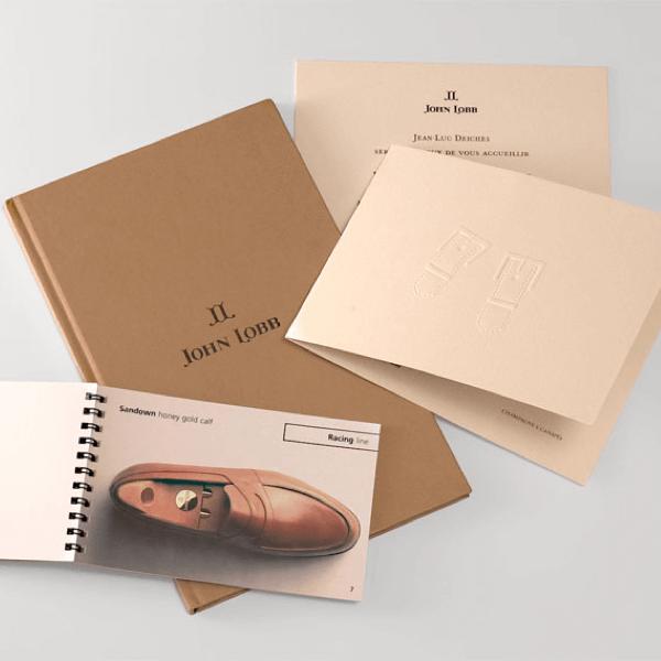 John Lobb, Luxury Packaging, Luxury brochure, luxury accessories, luxury footwear. premium packaging design