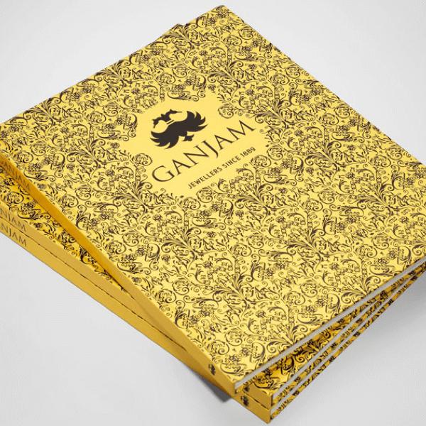 Jewellery marketing, Ganjam, luxury branding, cartier, luxury jewellery press advertising, Luxury Coffee table book design