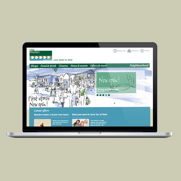 Retail Website build, Shopping Centre Marketing, Retail event coordination, retailer marketing campaign