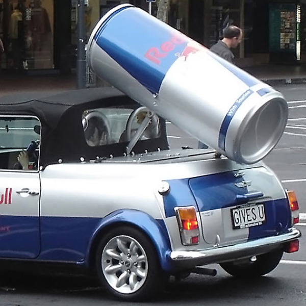 Red Bull, Student Marketing, Student Brand Manager campaign, Harry Drnec, Gives you wings. Red Bull Mini