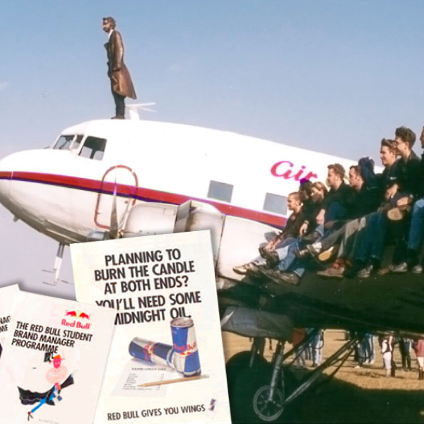 Red Bull, Student Marketing, Student Brand Manager campaign, Harry Drnec, Gives you wings