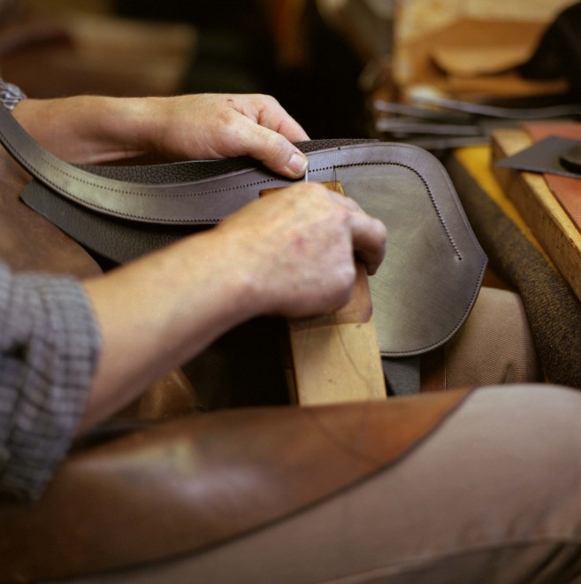 Hermes saddle workshop luxury branding agency