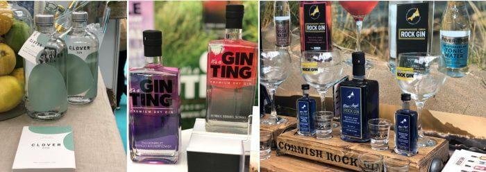 clover gin, rock distillery gin, gin ting, gin branding, gin labels
