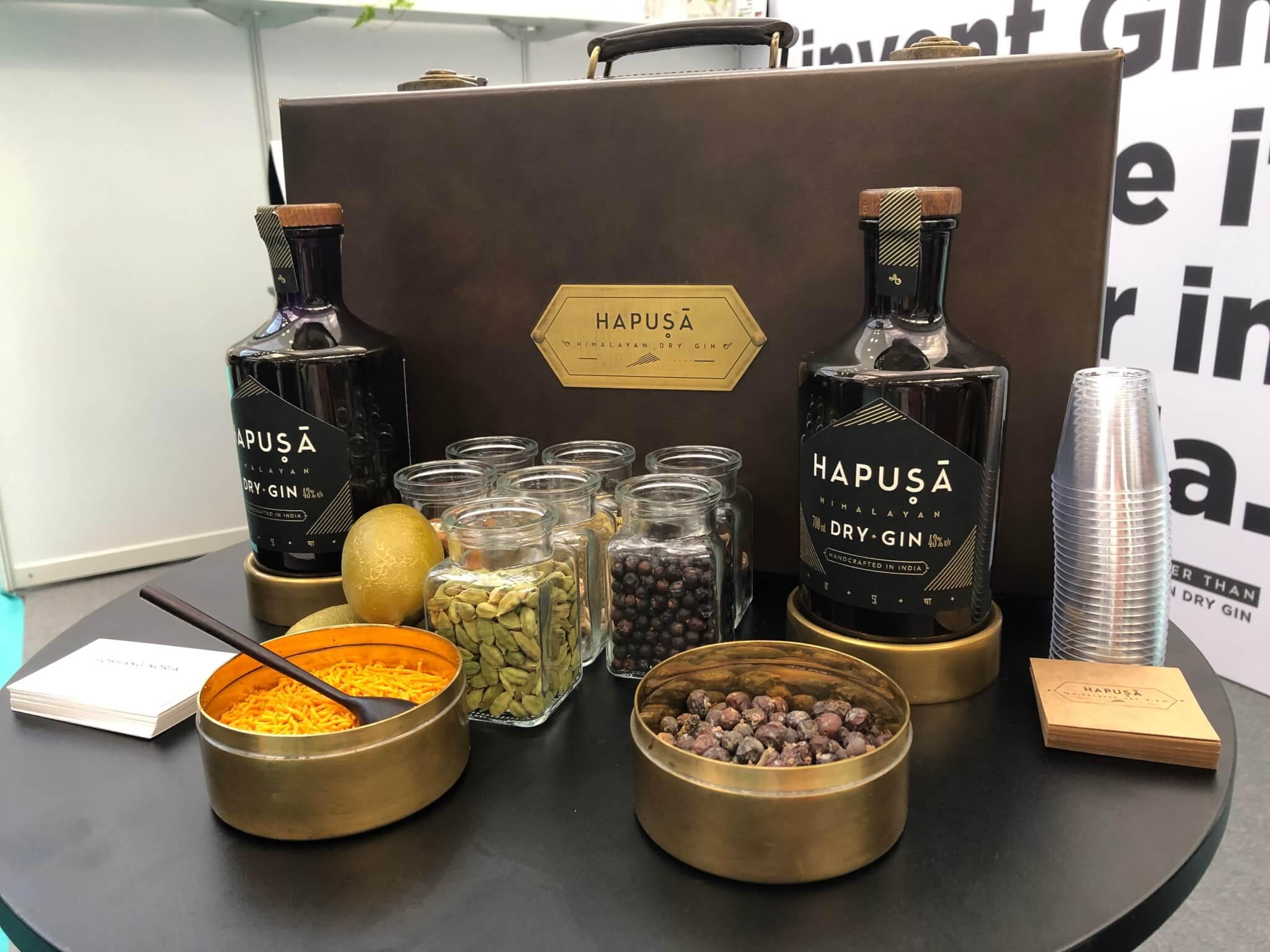 Hapusa dry gin, indian gin, nao spirits, gin npd, gin branding