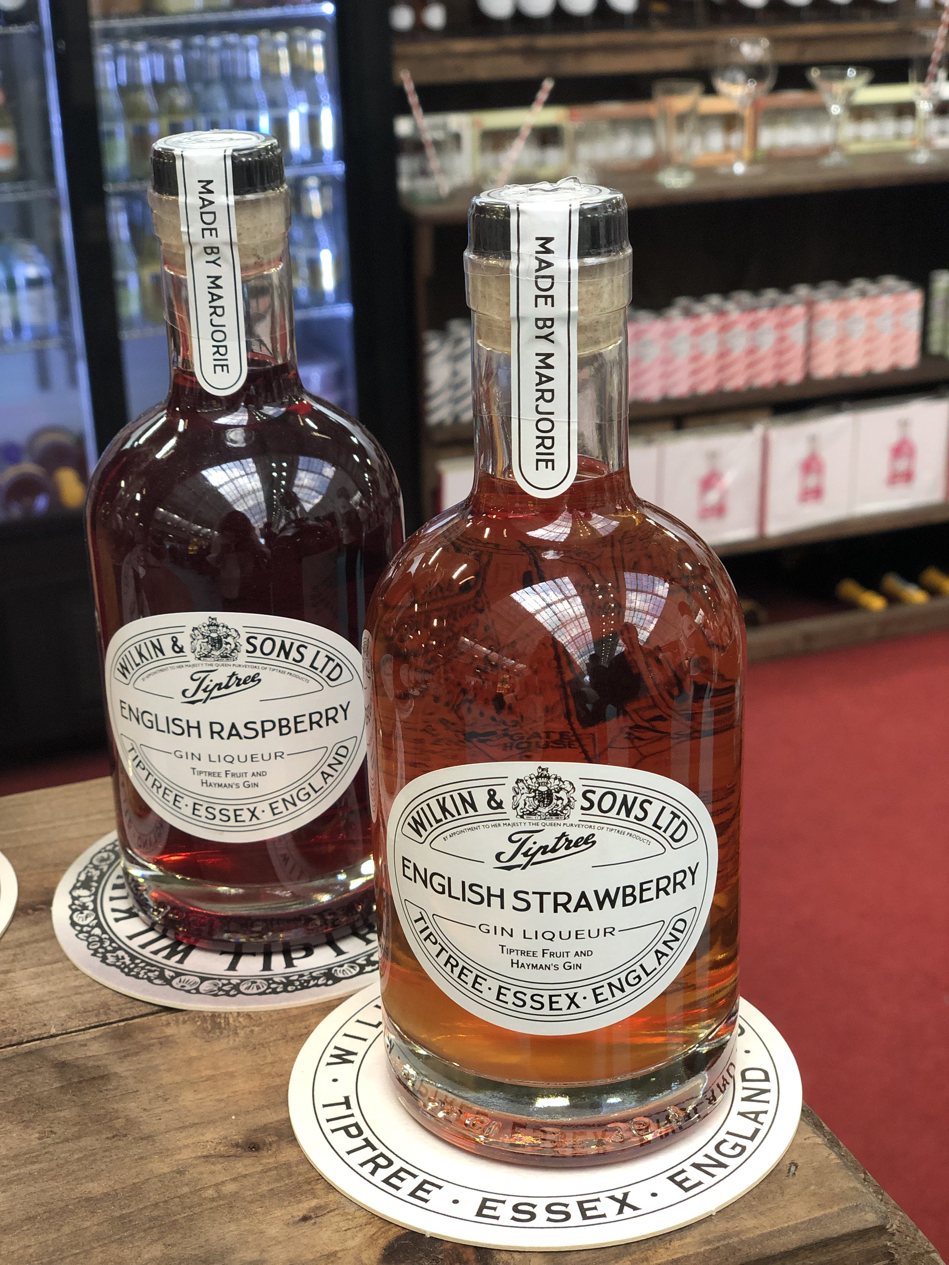 Tiptree gin liqueur, gin npd, gin marketing, gin branding
