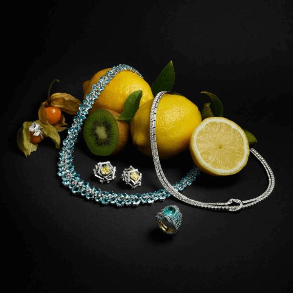 Luxury jewellery branding sized