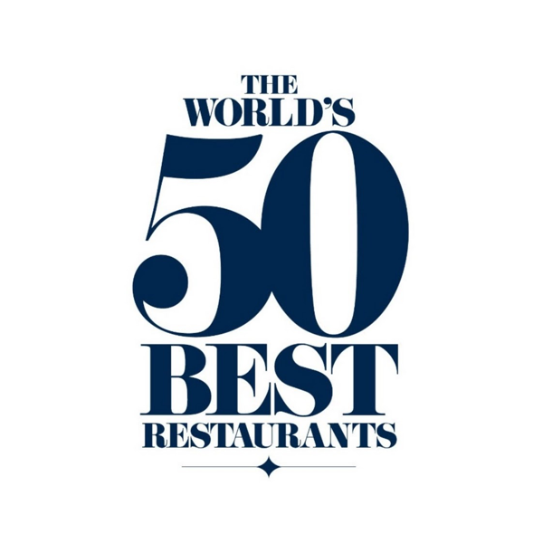 Worlds 50 best restaurants brand marketing logo